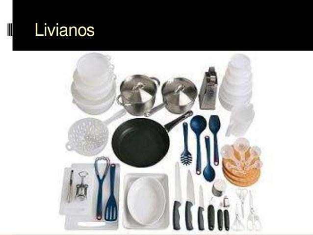 Utensilios de cocina Clasificacion de equipo de cocina