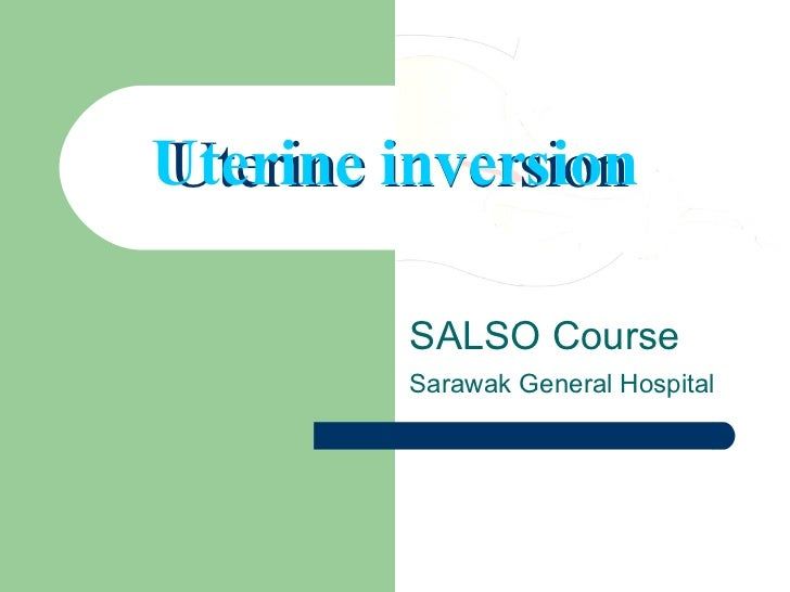 Pdf) total and acute uterine inversion after delivery: a case report.