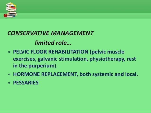 Uterine prolapse management
