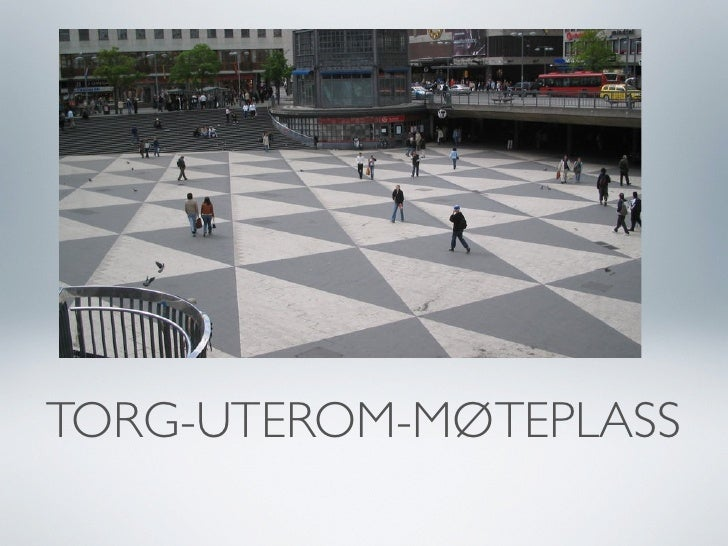 TORG-UTEROM-MØTEPLASS