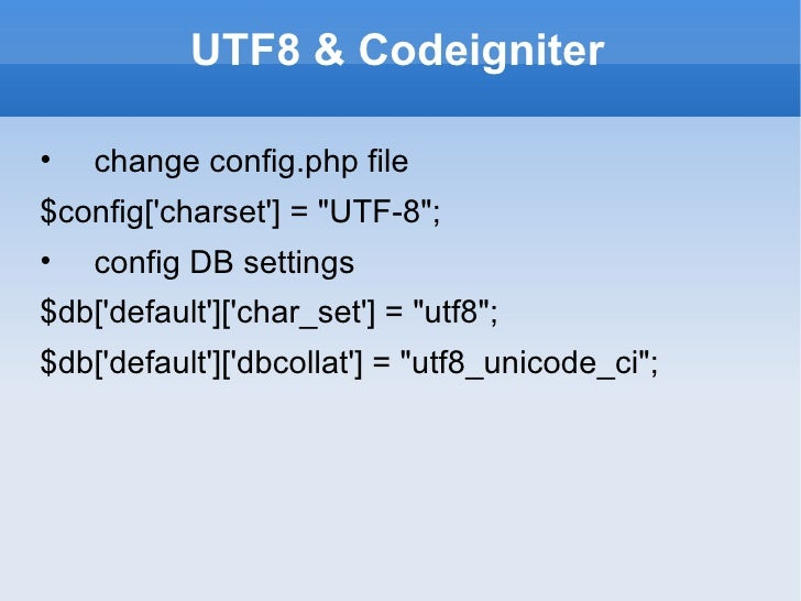 Html Character Encoding To Accept Utf 8