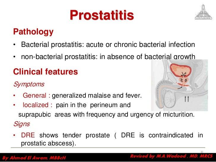 prostatitis and discharge