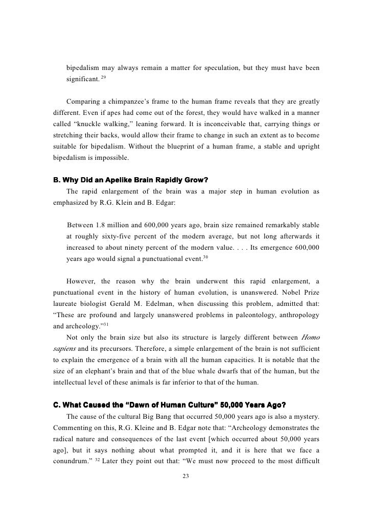 Advantages and disadvantages of bipedalism essay