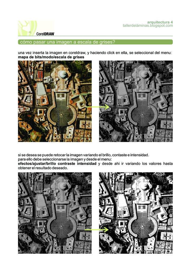 arquitectura 4                                                              tallerdeláminas.blogspot.com     cómo pasar un...