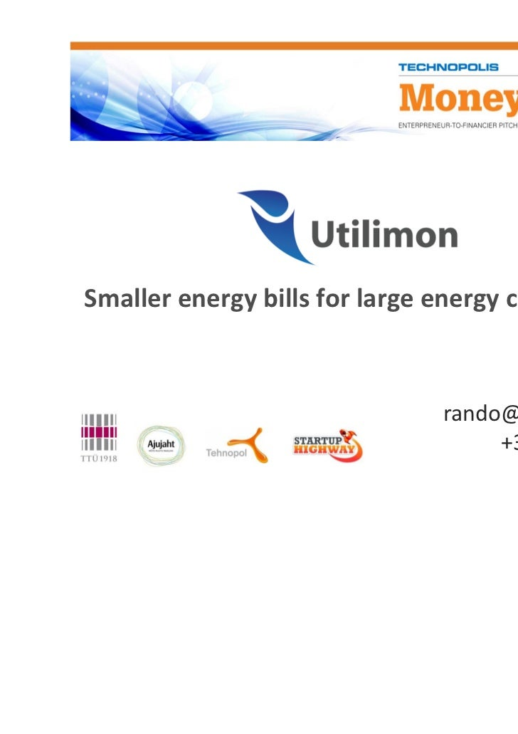 Smaller energy bills for large energy consumers                                     Rando Pikner                          ...