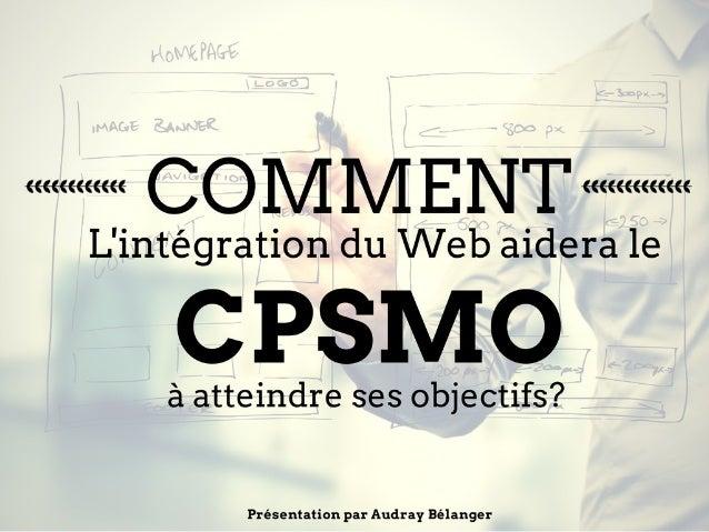Un site Web pour votre OSBL… Pourquoi?
