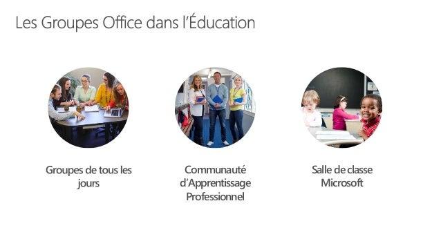 Salle de classe Microsoft Communauté d'Apprentissage Professionnel