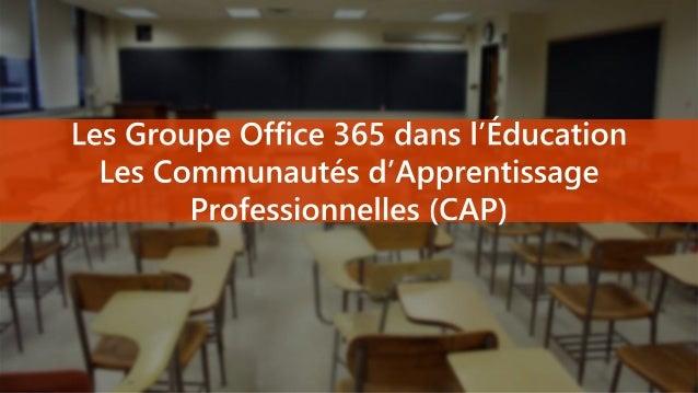 Un service dans Office 365 pour Éducation Création automatique du site de groupe et de classe Outils de synchronisation et...