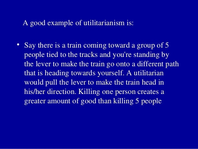 utilitrarianism Utilitarianism is the idea that the morally correct course of action is the one that produces benefit for the greatest number of people [technical.