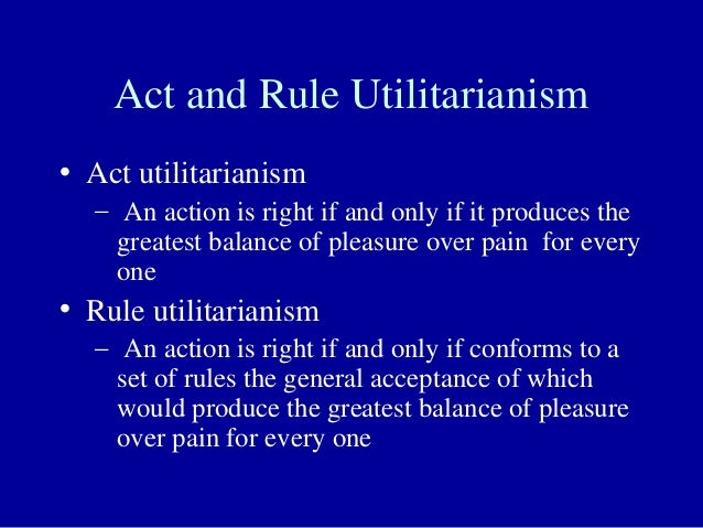 Introduction to Philosophy/Utilitarianism