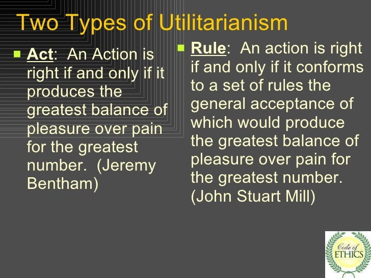 utilitarianism and greatest happiness essay Through the course of this paper the author will try to demonstrate, depicting both sides of the argument, the reasons in which a follower of john stuart mill's utilitarianism would.