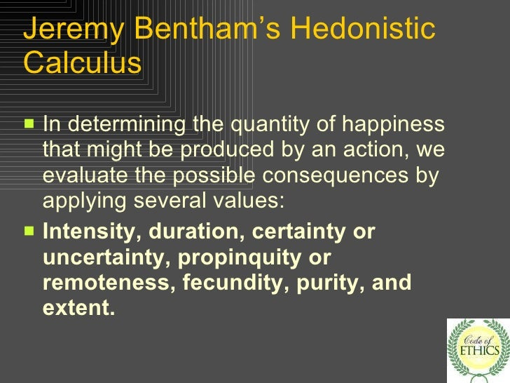 A comparison of the utilitarian philosophies of jeremy bentham and john stuart mill