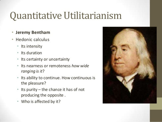 Ethics in the real world utilitarianism
