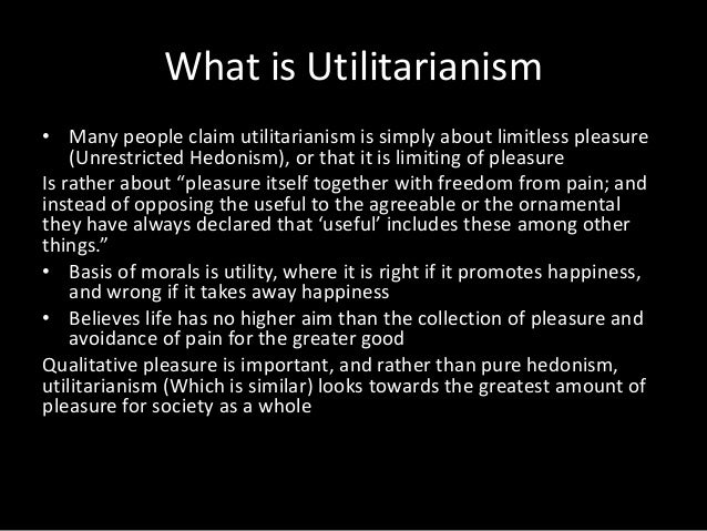 utilitarianism and happiness 4 essay Everyone's happiness counts the same it is in gay's essay that some of the questions that concerned hume on the nature of in chapter 4 of utilitarianism mill.