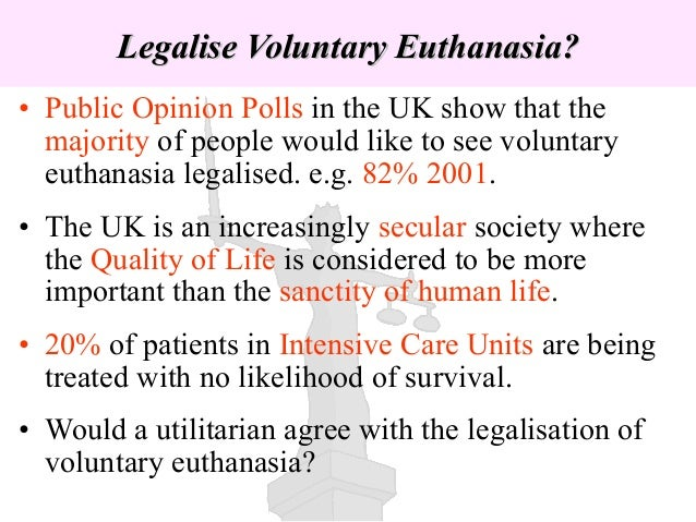 The Importance of Stories in the Euthanasia Debate