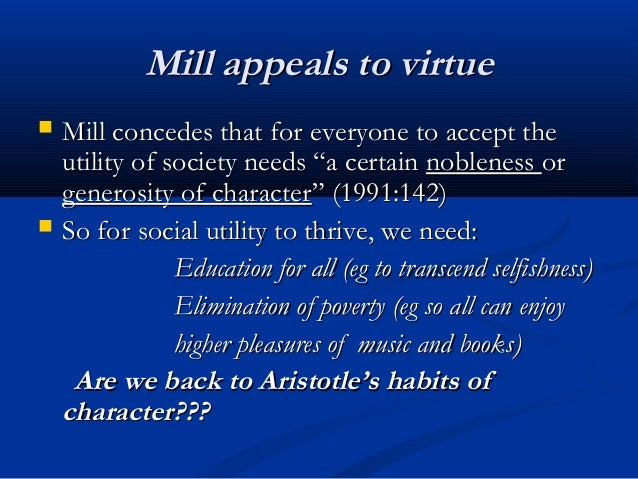 utilitarian view of poverty Q what is the liberal view on poverty (1) in this answer, we look at the absolute fundamentals underpinning political ideology, and then apply that to poverty to be balanced, we'll examine both left and right perspectives.