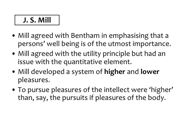 similarities between bentham and mill