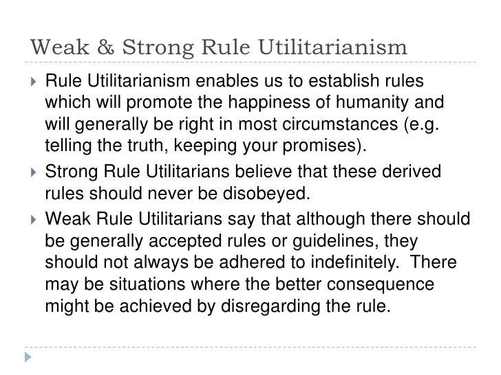 rule utilitarianism