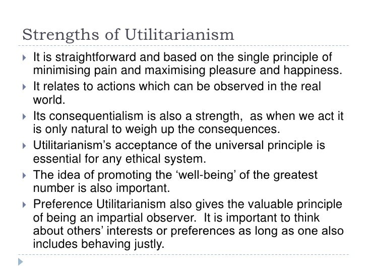 An argument against mills ethical system of utilitarianism
