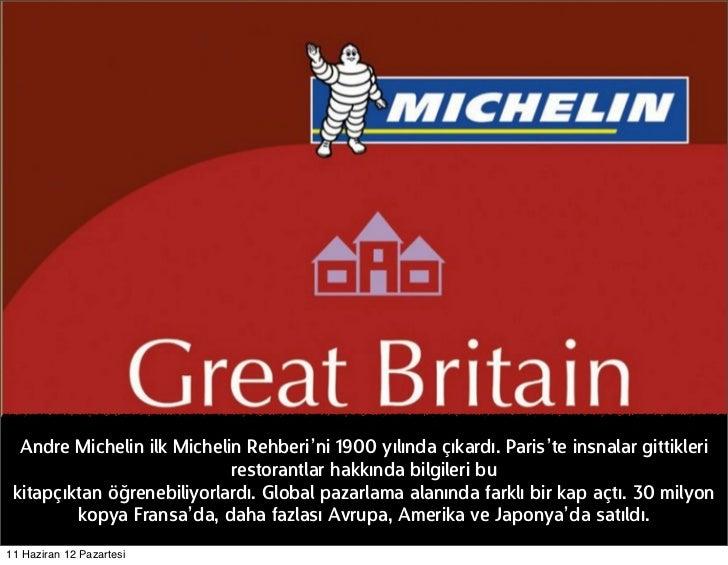 Andre Michelin ilk Michelin Rehberi'ni 1900 yılında çıkardı. Paris'te insnalar gittikleri                            resto...