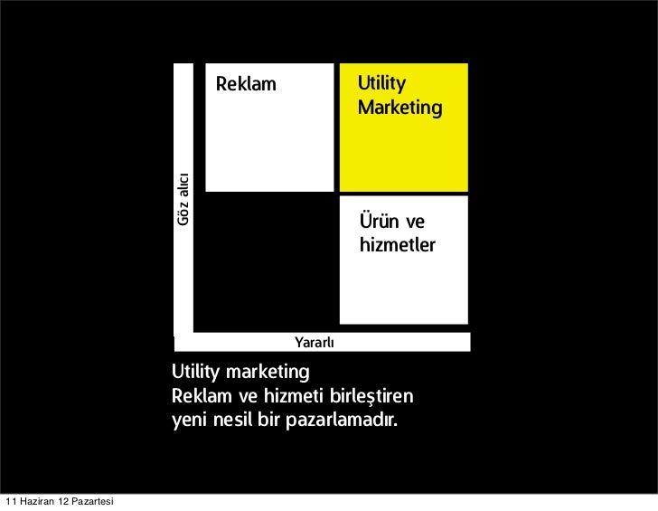 Reklam             Utility                                                         Marketing                          Göz ...