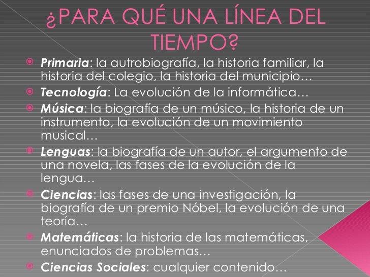 <ul><li>Primaria : la autrobiografía, la historia familiar, la historia del colegio, la historia del municipio… </li></ul>...
