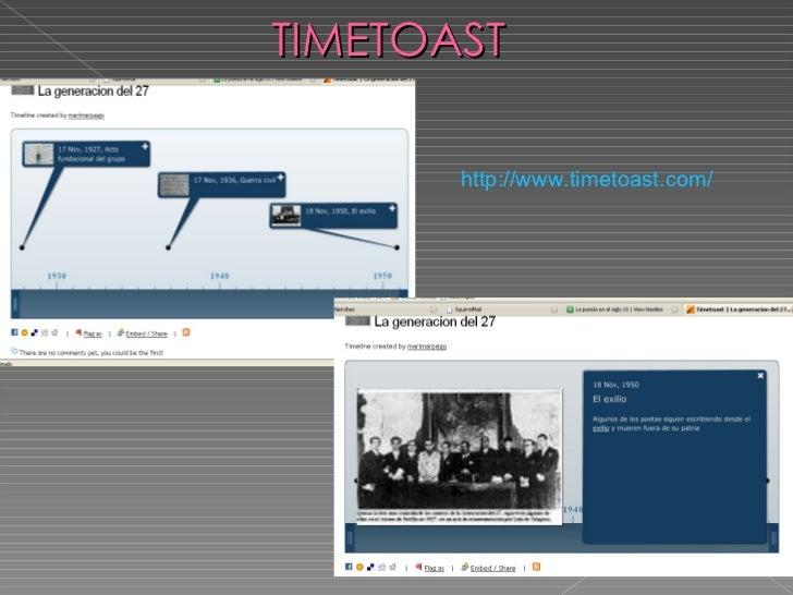 TIMETOAST http :// www.timetoast.com /