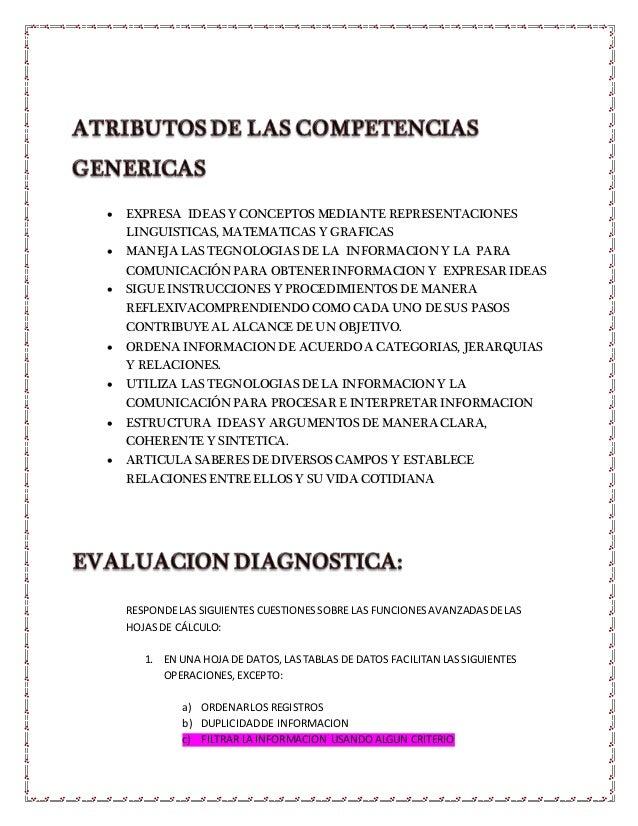  EXPRESA IDEAS Y CONCEPTOS MEDIANTE REPRESENTACIONES LINGUISTICAS, MATEMATICAS Y GRAFICAS  MANEJA LAS TEGNOLOGIAS DE LA ...