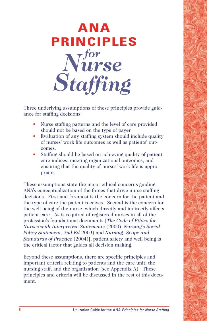 the effects of nurse staffing on The staffing shortages caused by nurse turnover can lead to an increase in accident rates and absenteeism levels among the nurses who remainxv.