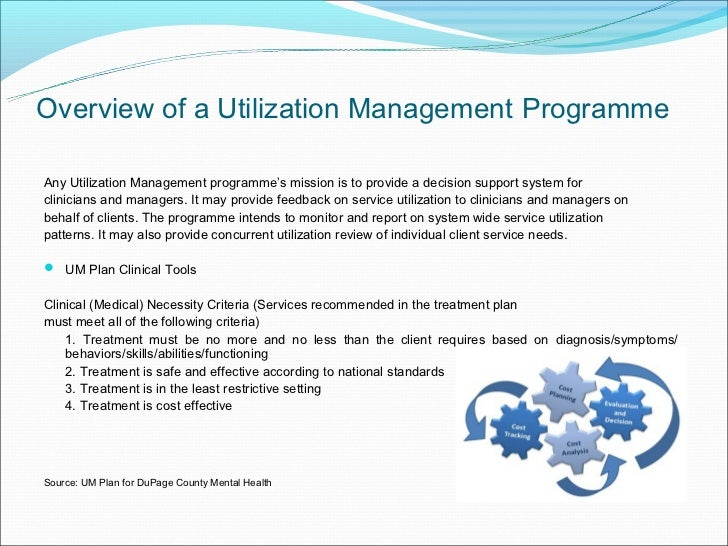 utilization management, Human Body