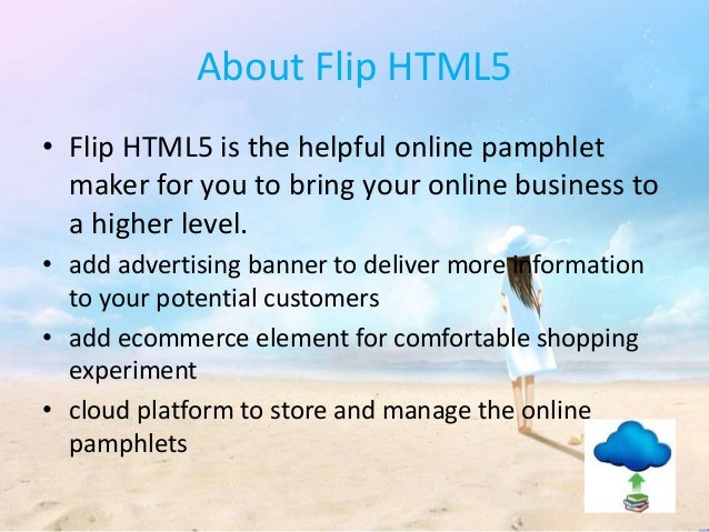 utilize the leading pamphlet maker flip html5 to improve your online