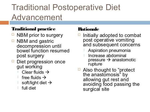 clear liquid diet advance diet protocol