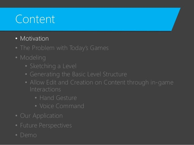 Utilizing Kinect Control for a More Immersive Interaction with 3D Environment Slide 3