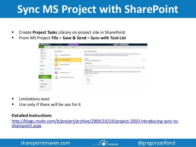 sharepoint for project management