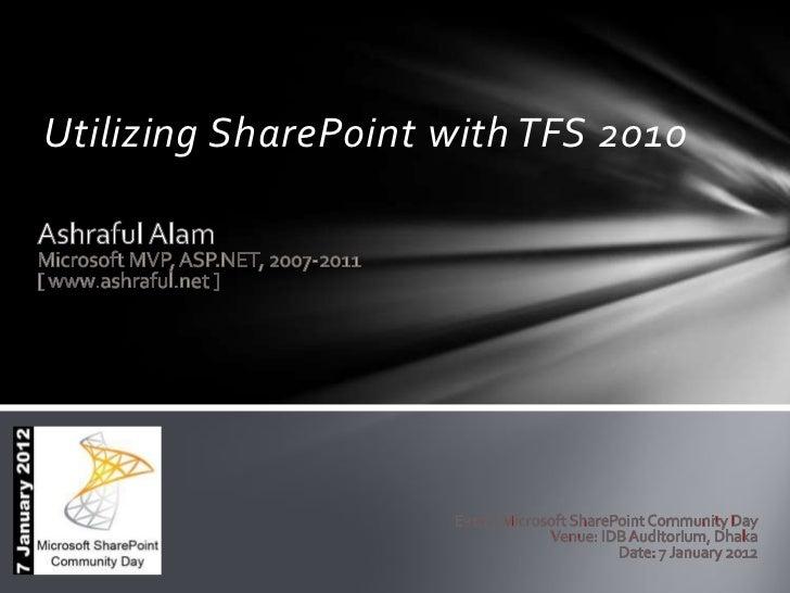 Utilizing SharePoint with TFS 2010