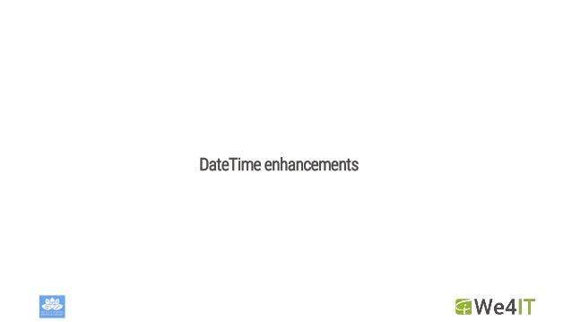 DateTime enhancements