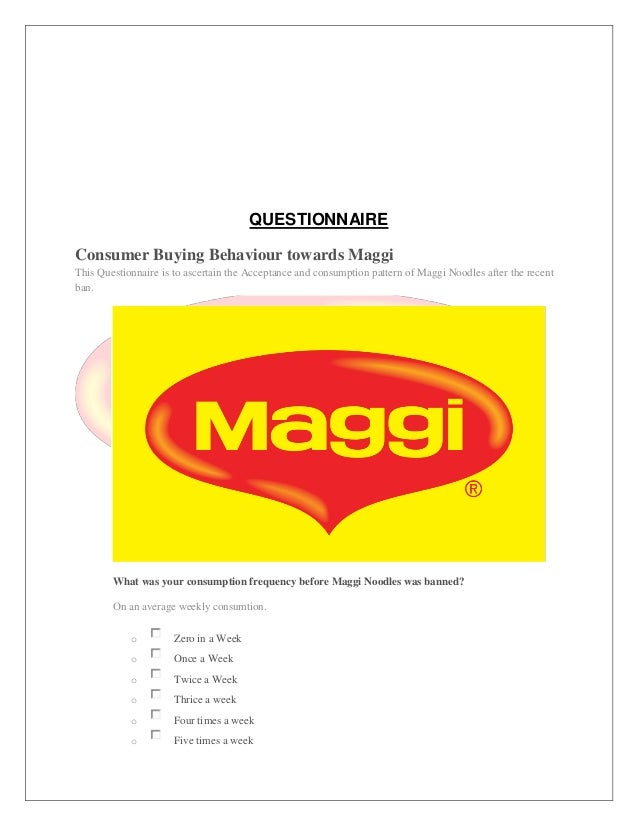 consumer buying behavior of maggi Wwwlabelvaluecom (800) 750-7764 page 1 influence of packaging on consumer buying behavior sheena white.