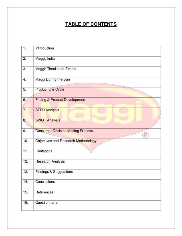 segmentation targeting positioning of maggi pdf download