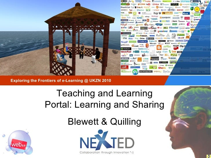 Teaching and Learning Portal: Learning and Sharing