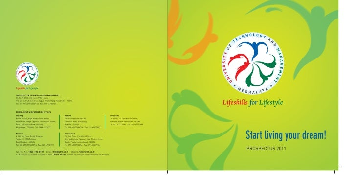 University of Technology and Management - Brochure