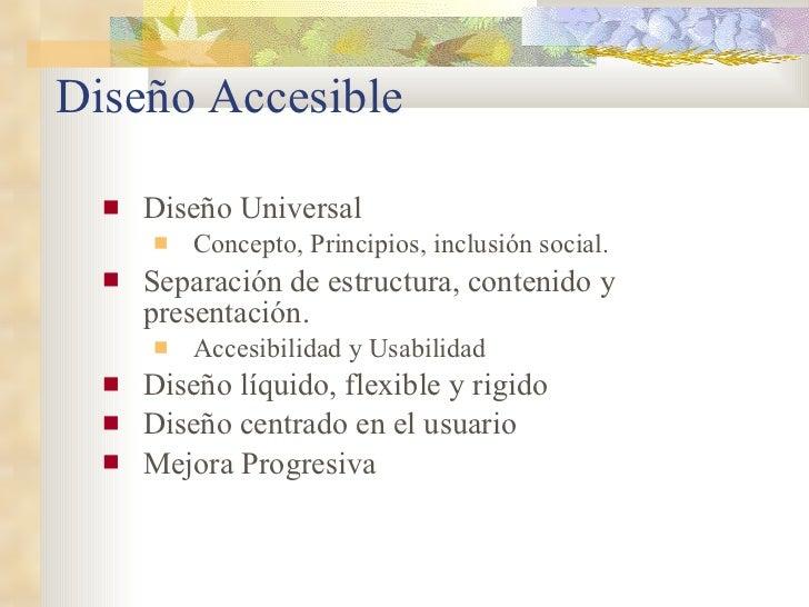 Diseño web inclusivo y la maquetación Slide 2