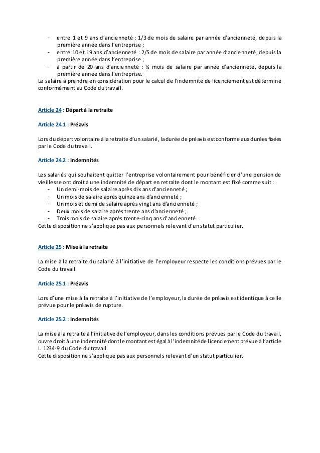 code du travail article l1234-1