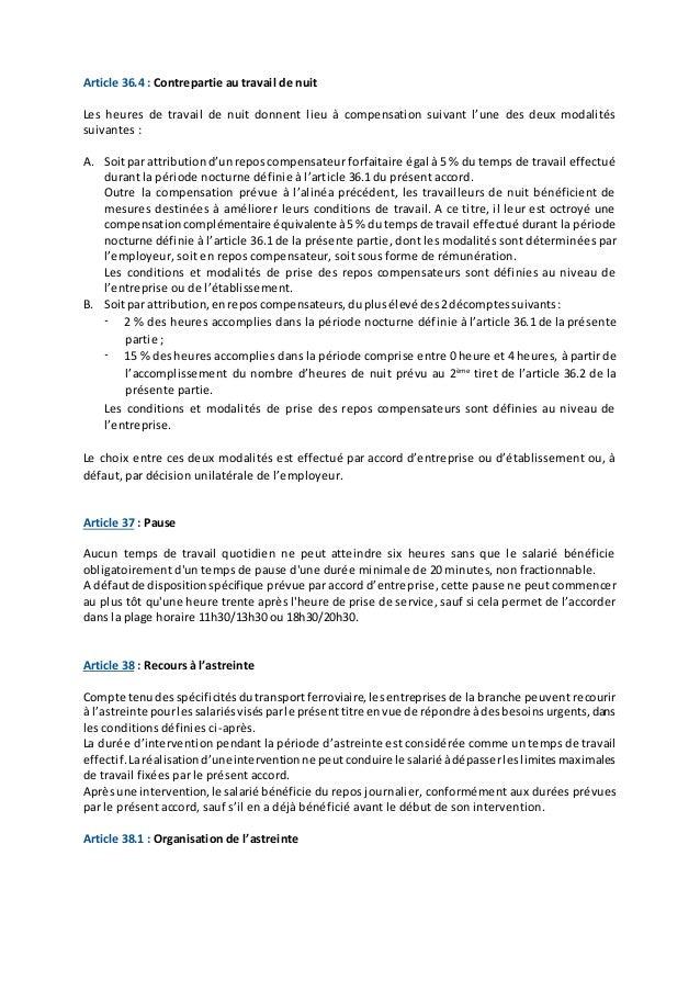Utp accord contrat de travail   organisation du travail   31 mai 20…