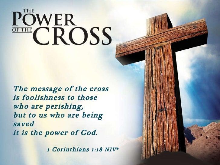 utpl power of the cross