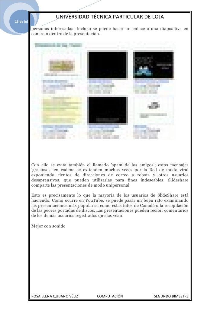 Utpl Que Es Slideshare Comp Segundo Bimestre Slide 3