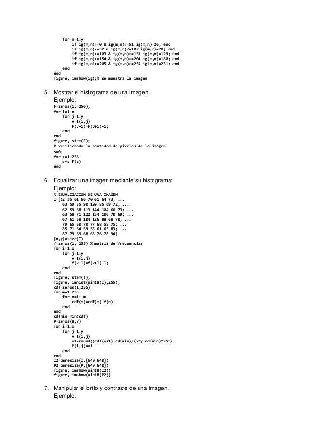 for n=1:y  if ig(m,n)=0  ig(m,n)=51 ig(m,n)=26; end  if ig(m,n)=52  ig(m,n)=102 ig(m,n)=78; end  if ig(m,n)=103  ig(m,n)=1...