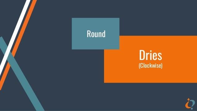 Dries (Clockwise) Round