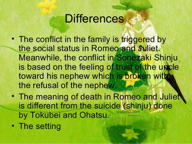 romeo and juliet differences