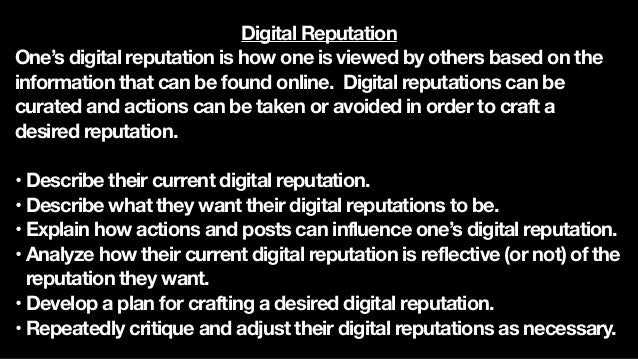 Digital Literacy Digital literacy is the ability to consume and apply critical thinking skills to information and news fou...