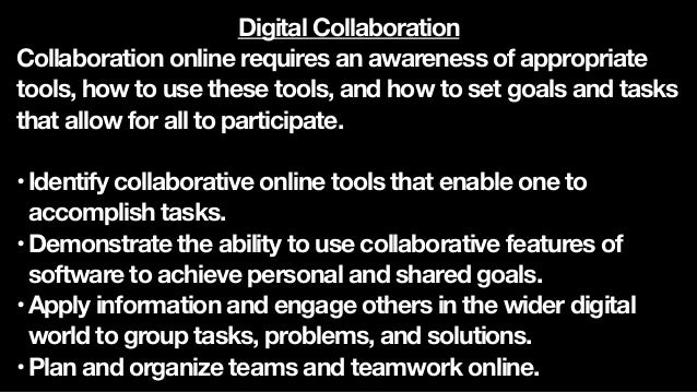 Reputation Literacy Citizenship Communication Collaboration Digital Learning Outcomes for College Students Digital